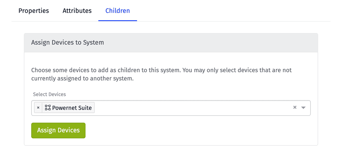 System Add Children