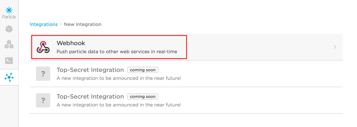 Webhook Integration