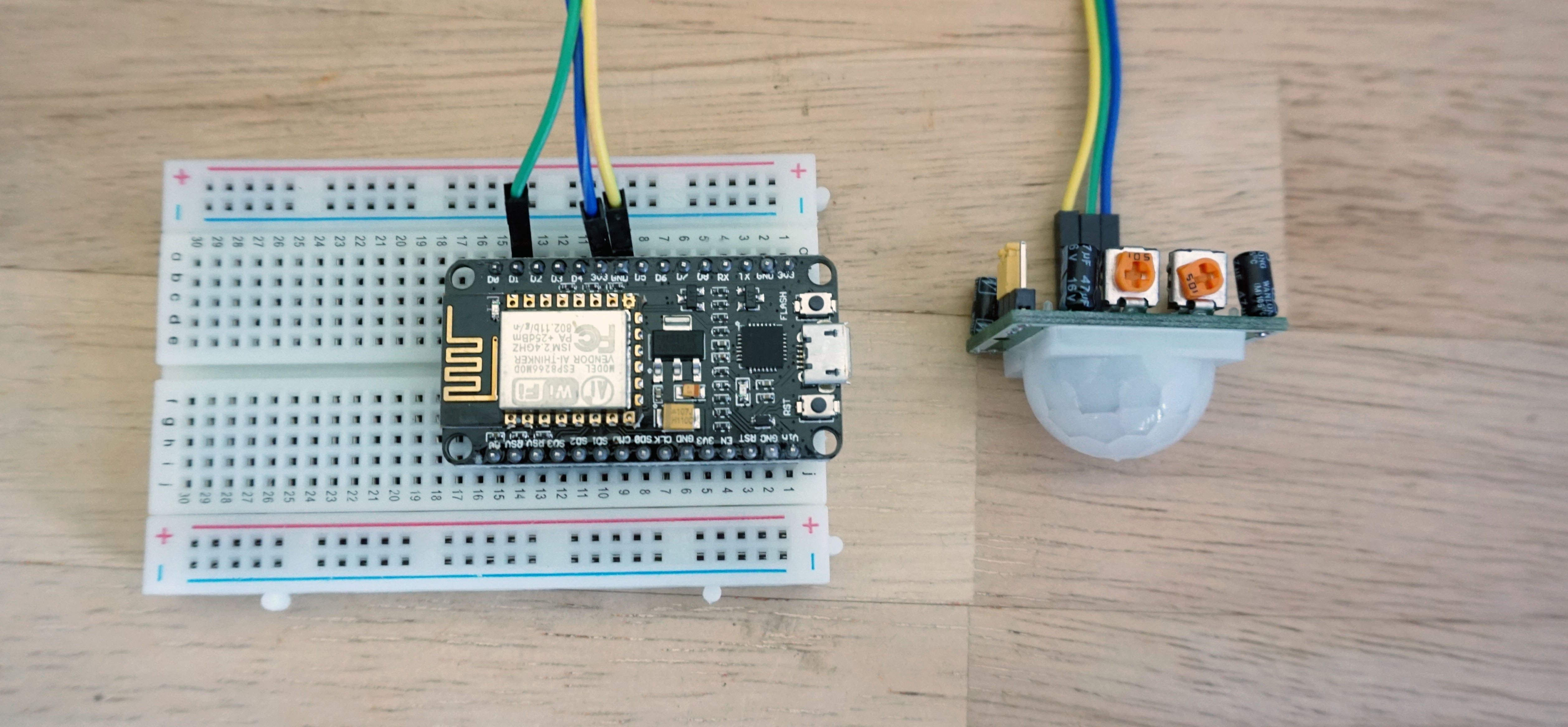 Motion Sensor Kit Instructions Losant Iot Dev Kits Getting Detector Wiring Image