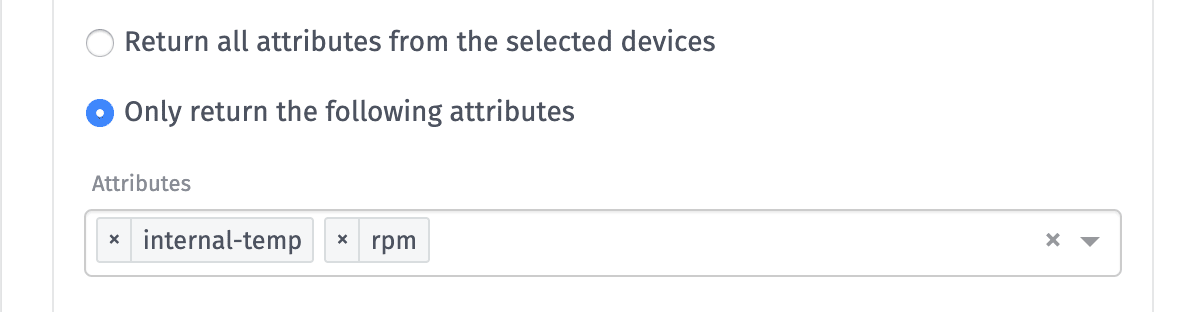 Device Data Attributes