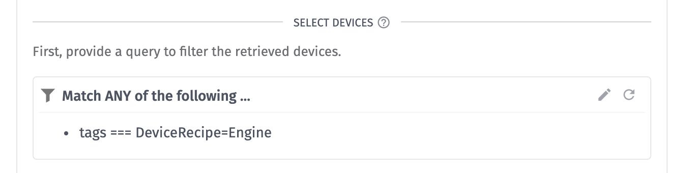 Device Metadata Device Query